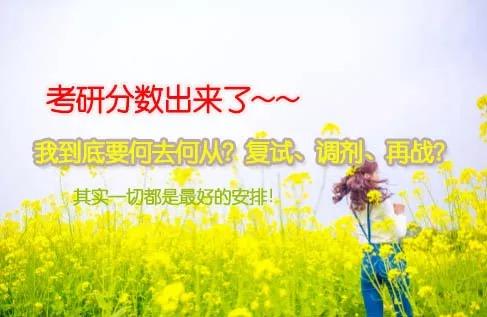 @考研考生:国家分数线会是多少?我这分准备复试还是调剂?